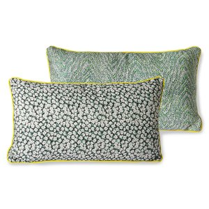 PRINTED CUSHION GREEN // pre-order 18 December