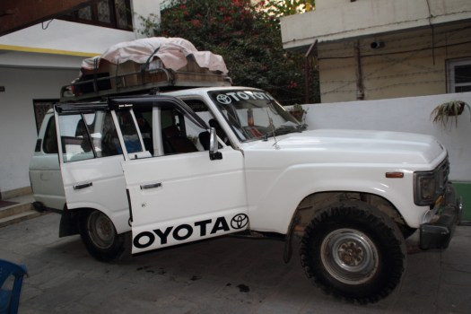Loaded Landcruiser