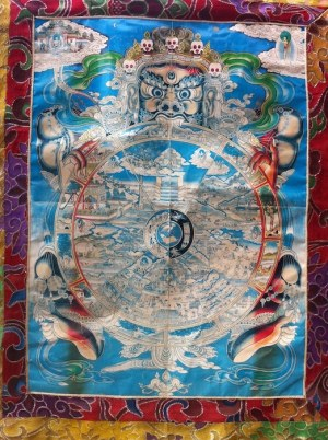 Buddhist Wheel of Life.