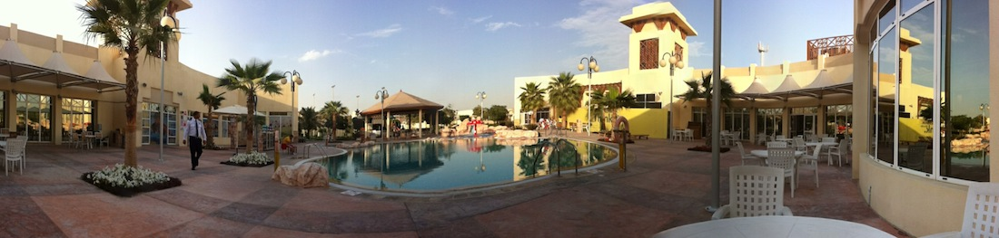 Panorama of Club House.