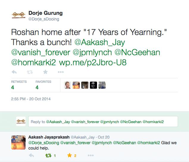Roshan's story final tweet