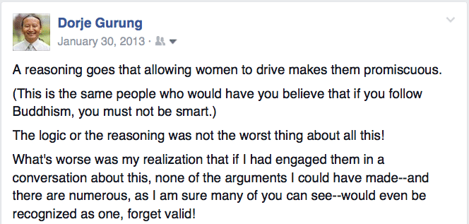 students on women driving