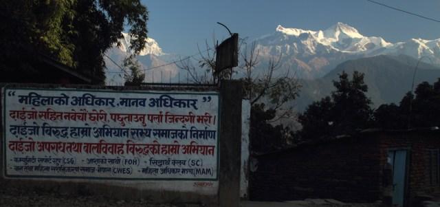 Annapurna from Sarangkot 6273