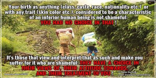 Social Justice: Caste Away