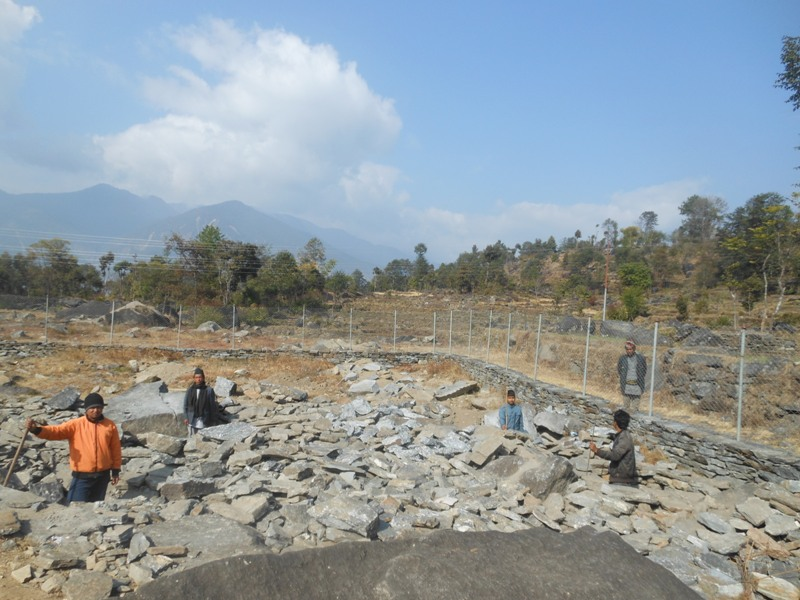 Taltuleshwori reconstruction Dec 2015
