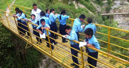 Grade 5 Science at Jana Uddhar: A Field Trip