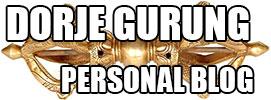 Dorje's Personal Blog