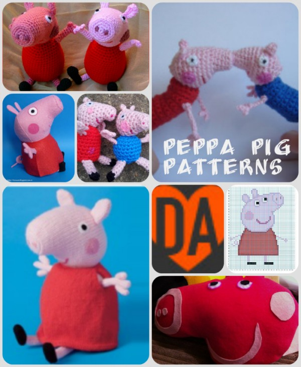 Pin Peppa-pig-knitting-and-crochet-patterns-dork-adore on Pinterest
