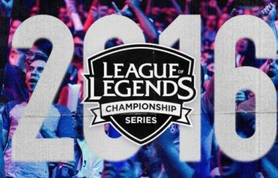 """The """"League of Legends"""" Championship Series."""