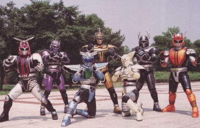 B-Fighter Kabuto (Also known as Bettleborgs in America), one such Tokusatsu series.