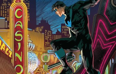 Cover of Nightwing #10. Courtesy of DC Comics.
