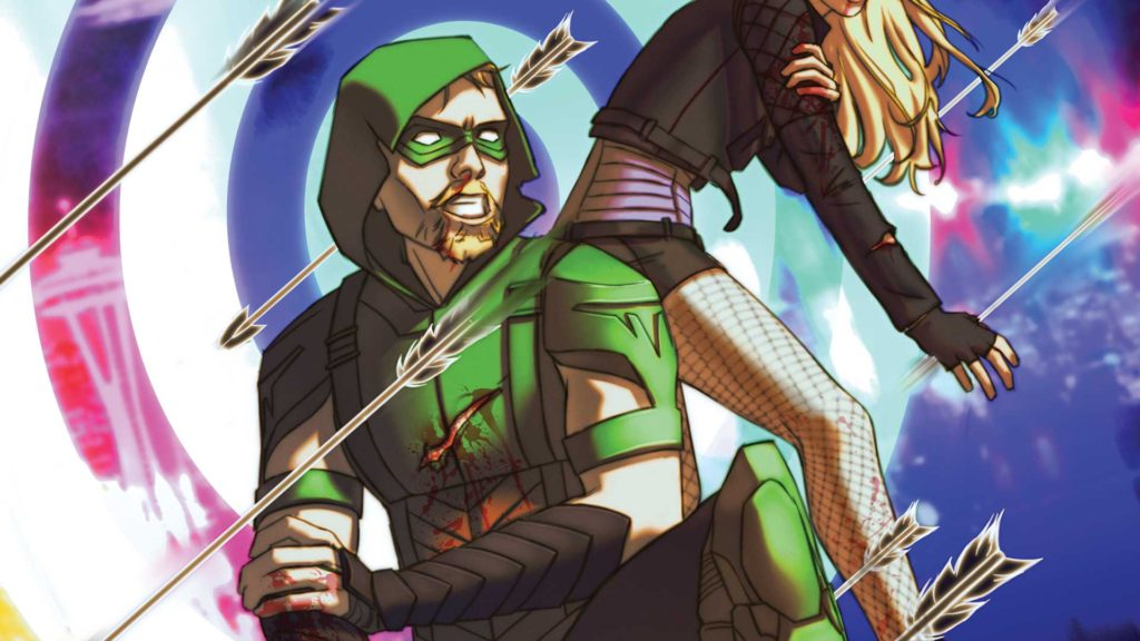 Green Arrow #12 Cover. Courtesy of DC Comics.