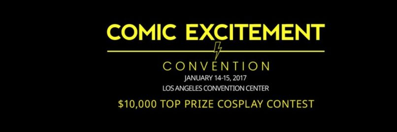 Comic Excitement Con 2017.