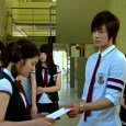 """Baek Seung-Jo humiliates Oh Ha-Ni by returning her """"corrected"""" love note in front of her peers in """"Playful Kiss."""""""