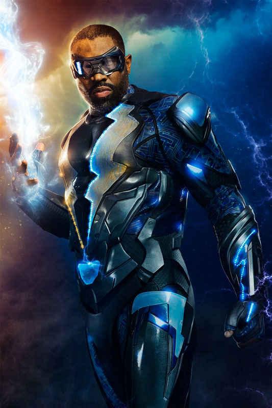 Cress Williams as Jefferson Pierce, the hero known as Black Lightning.