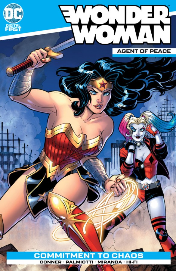 DC Digital First - Wonder Woman Agent of Peace