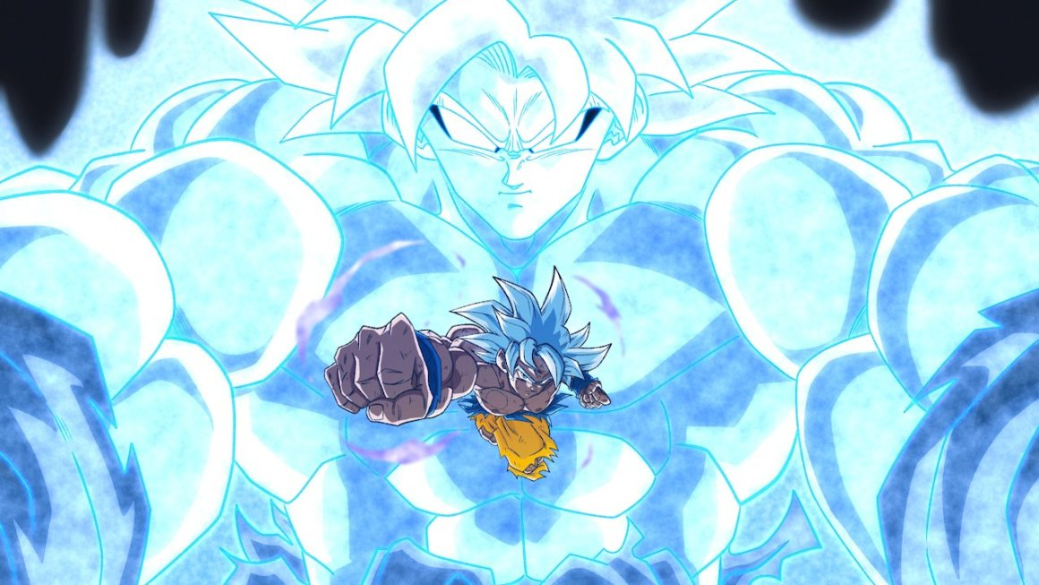 The latest transformation in Dragon Ball Super. Art by BrolyTrash