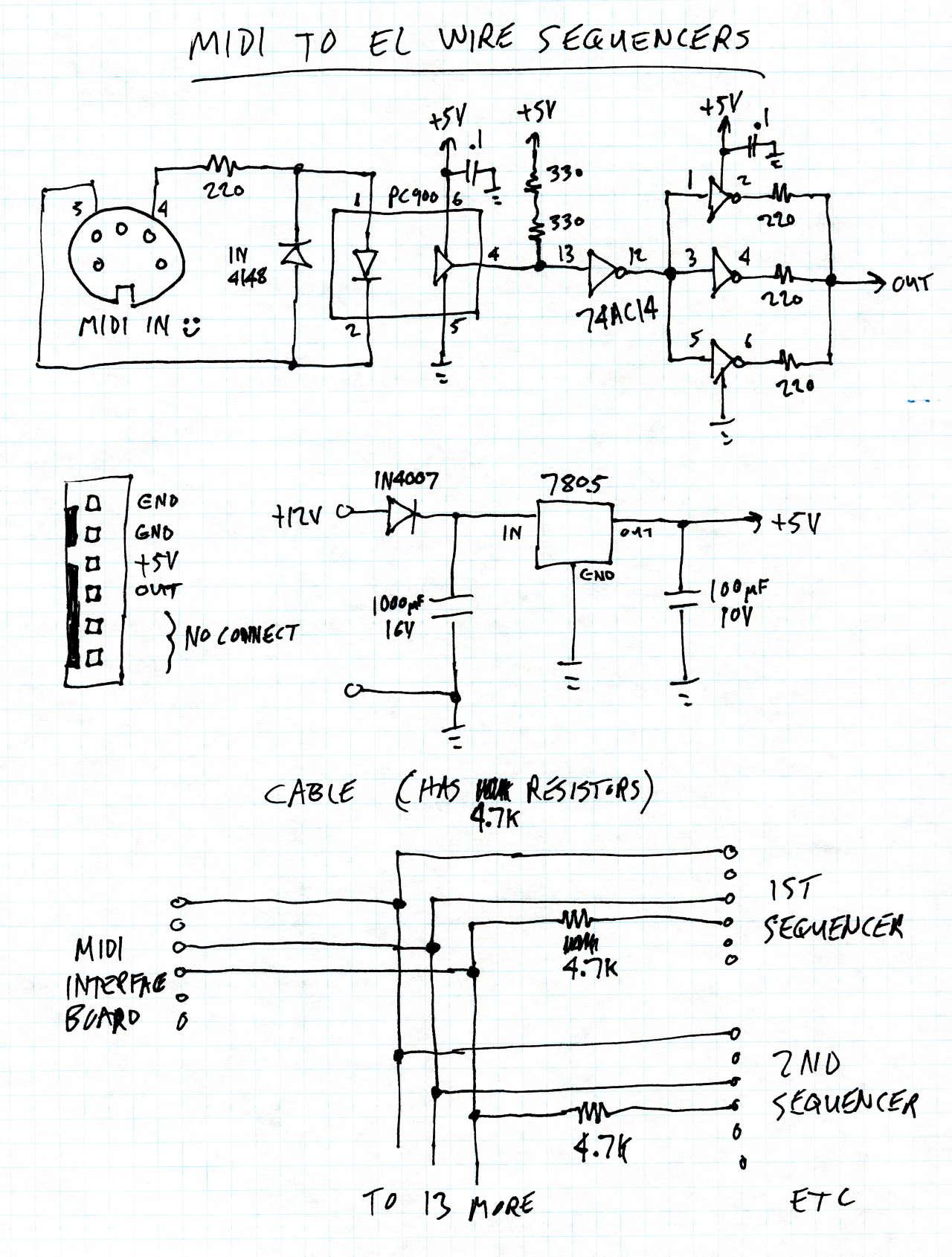 diy el wire inverter diydrysite co turtle beach product schematics el wire schematic best site wiring harness