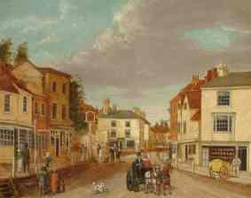 John Beckett, South Street From Pump Corner