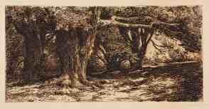 Charles Collins, Druids Grove, Norbury Park