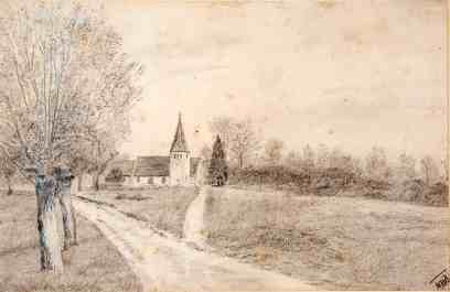 WH Dinnage, North Holmwood Church