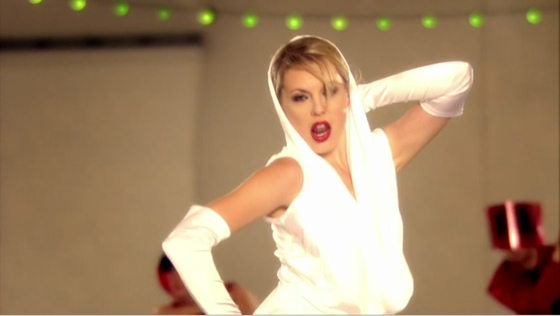 "Kelly Adams as Kylie Minogue (""Hustle"")"