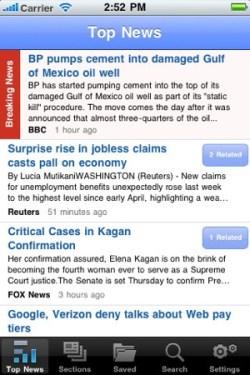 Fluent News Reader