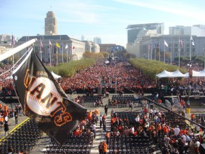 Mayor Newsom Joins the San Francisco Giants