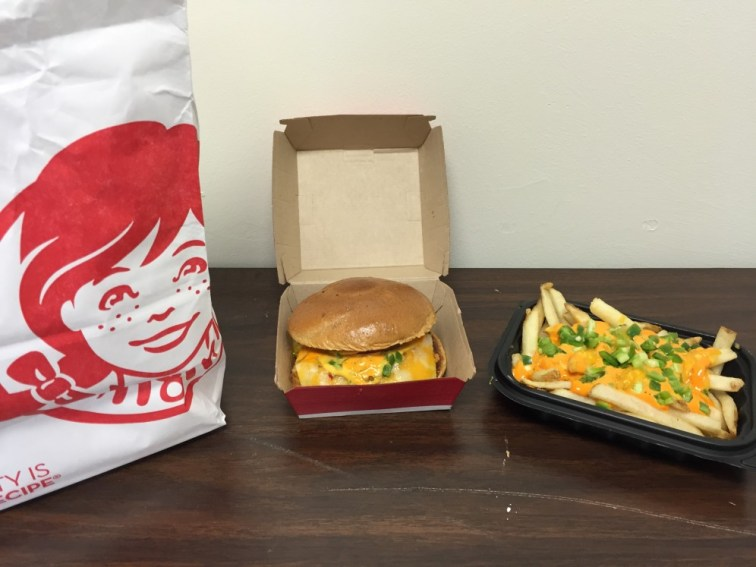 Wendy's Jalapeño Fresco Spicy Chicken Sandwich and Ghost Pepper Fries