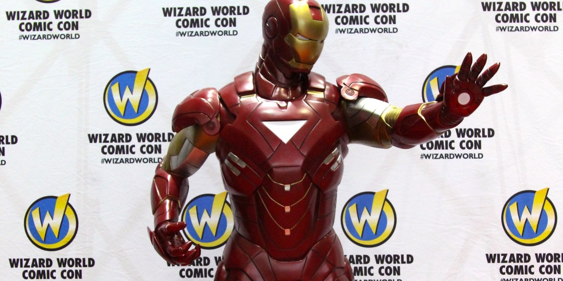 Wizard World Sacramento Comic-Con 2016 - Iron Man Figure