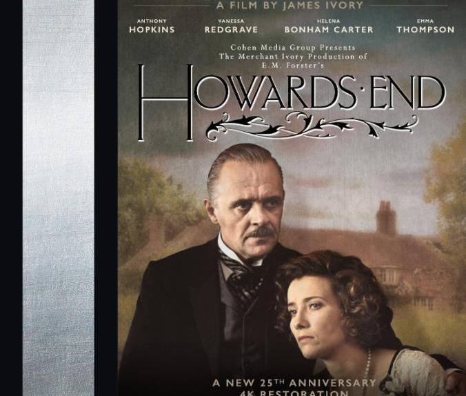 Howards End Blu-ray Box Art