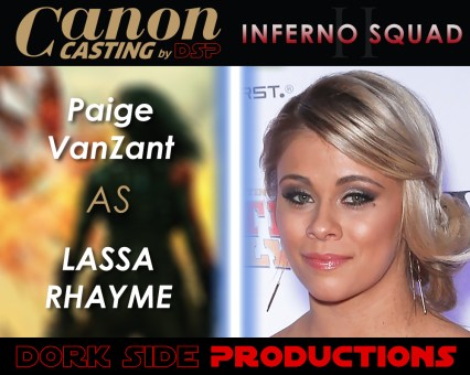 Paige VanZant at Lassa Rhayme