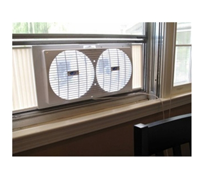 Portable Twin Dorm Room Window Fan Double Dorm Fan Fits