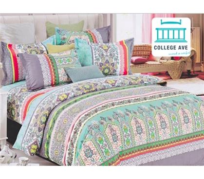 Mint Haze Dorm Bedding For Girls Extra Long Twin Comforter
