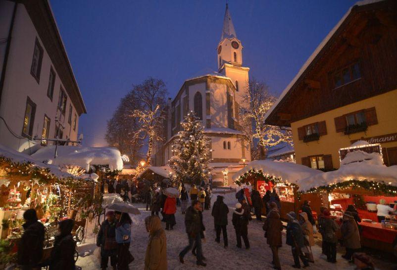 Bad Hindelang Weihnachtsmarkt.Erlebnisweihnachtsmarkt Bad Hindelang Anneliese Dorn Malerin