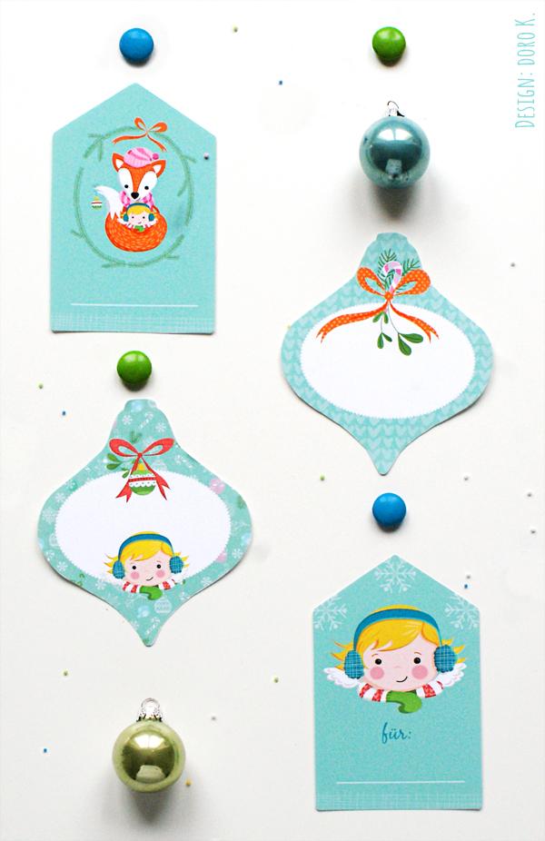 Weihnachtsanhänger | Christmas Tags