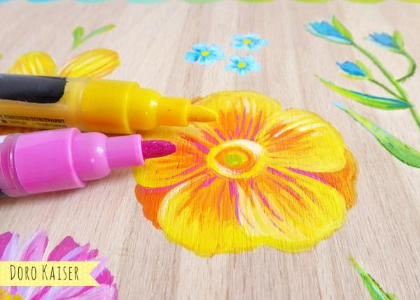 DIY Blumenpresse selber machen | www.dorokaiser.online.de