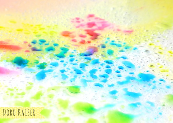 Aquarelleffekte mit Tombows / Koi Stiften , Detail | www.dorokaiser.online.de