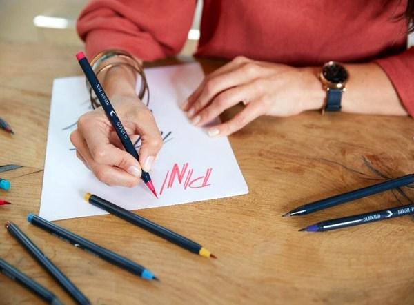 Schnaud Brush Pen Lettering