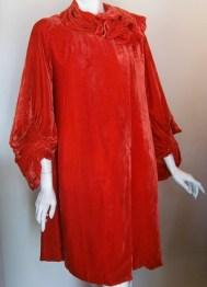 20s robe vintage opera coat