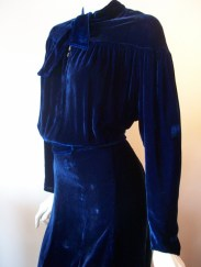 30s dress xl vintage dress
