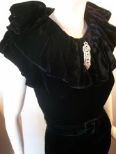 30s gown vintage gown 30s dress