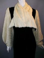 vintage ermine coat 30s opera coat