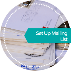 Set Up Mailing List