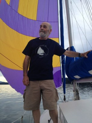 Fred Apstein, founder of the Silva Bay boat school, took Tony Grove, Tobi Elliott and Emily, Tony's daughter, out for a sail. dorothysails.com