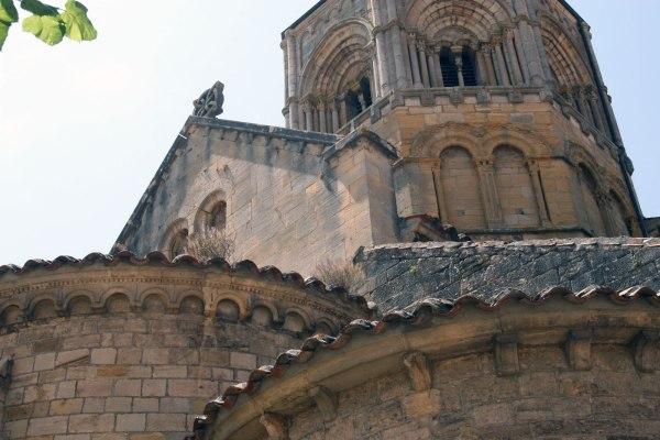 Kerk van Semur en Brionnais in Bourgondië, Frankrijk