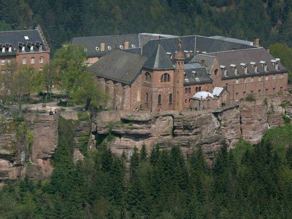 klooster-op-de-berg-Sainte-Odile