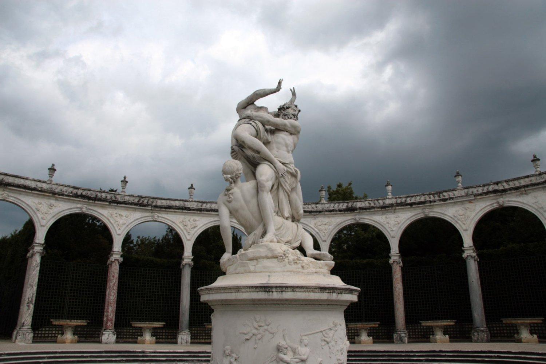 La Colonnade is een lusthofje in de tuin van Versailles