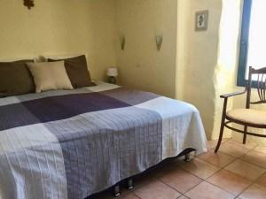 slaapkamer Gite La Volane