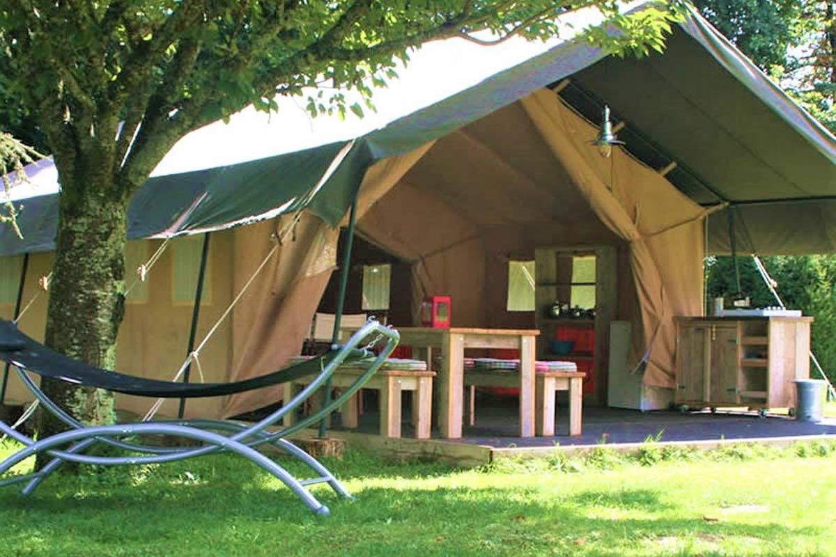 Lodge tent van La Petite Vallee